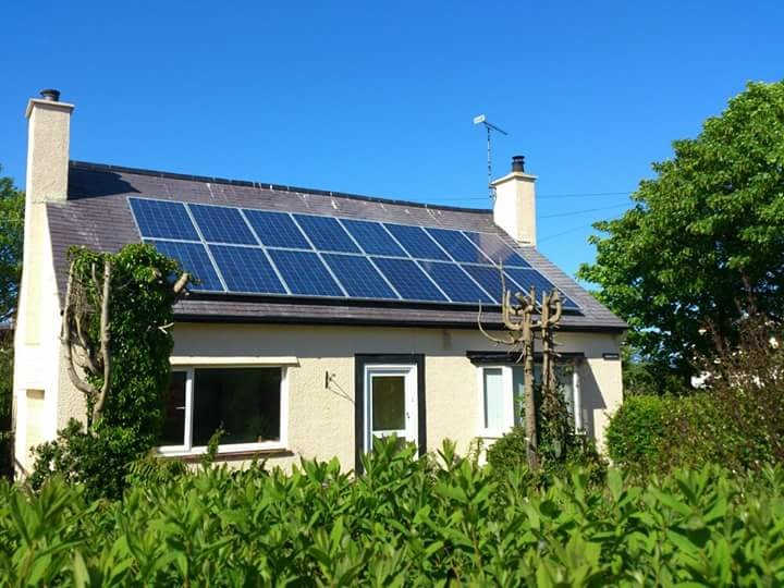 Solar panels installed by RHIAES